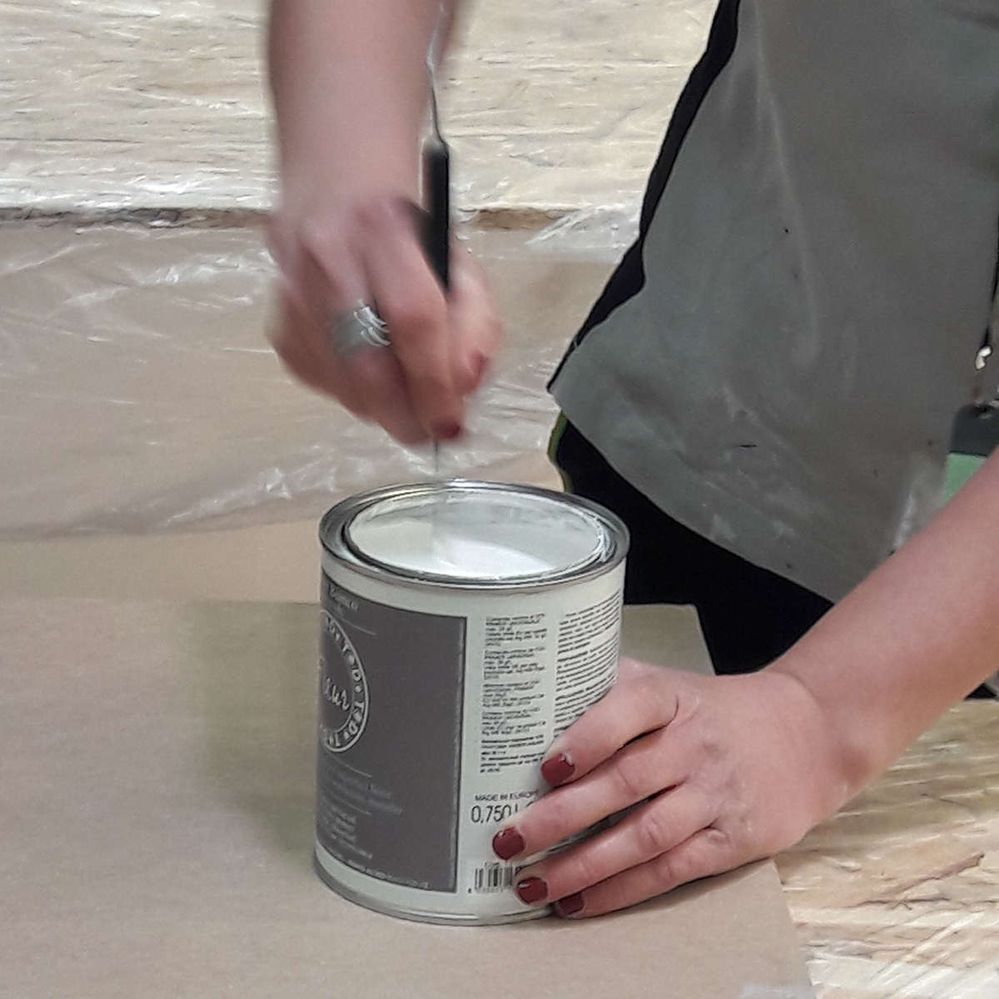 Pittura Shabby Leroy Merlin dipingere mobile laccato senza scartavetrare | community lm